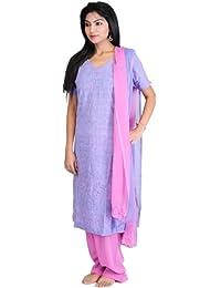 Exotic India - Salwar - para mujer multicolor Jacaranda Blue