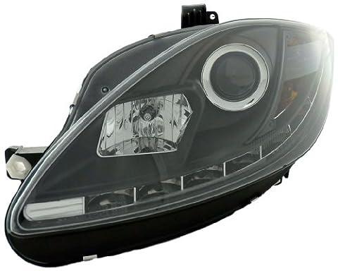 FK Automotive FKFSSE011011 Daylight Scheinwerfer Seat Leon 1P Baujahr 09, schwarz