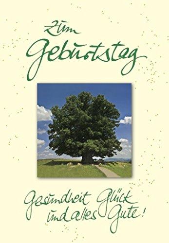 DeCoArt... XXL-Karte Riesenkarte Geburtstagsgrüße Baum ca. 22x31 cm mit Umschlag (Karten Und Ca)