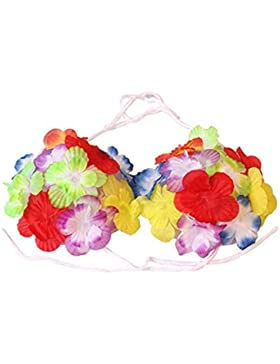 Vin beauty Gallina Beach Pool Party para mujeres Beach bikini Bikini Sexy Hermoso Flores atractivas sujetador...
