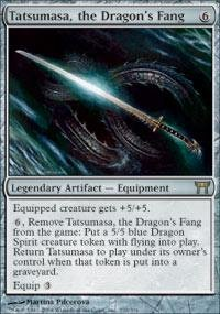 Magic: the Gathering - Tatsumasa, the Dragon's Fang - Champions of Kamigawa by Magic: the Gathering
