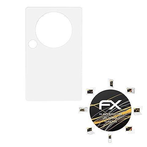 Sandisk Sansa Fuze Displayschutzfolie - 3 x atFoliX FX-Antireflex blendfreie Folie Schutzfolie