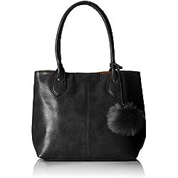 Handbag - Mira, Bolsos maletín Mujer, Schwarz, 18x28x30 cm (B x H T)