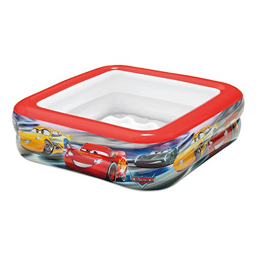 Intex 57101 - Piscina Baby Cars, 85 x 85 x 23 cm