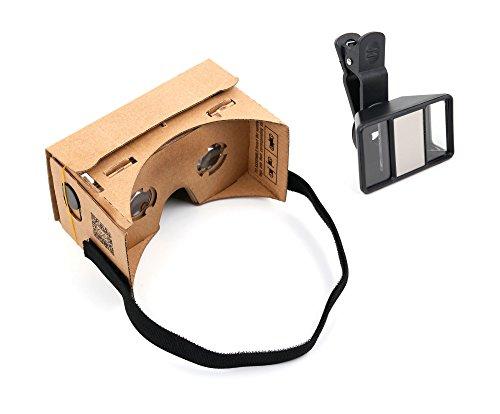 DURAGADGET Für UMI Rome | Fair | Max und UMIDIGI Diamond (X): VR Google Cardboard Brille und...
