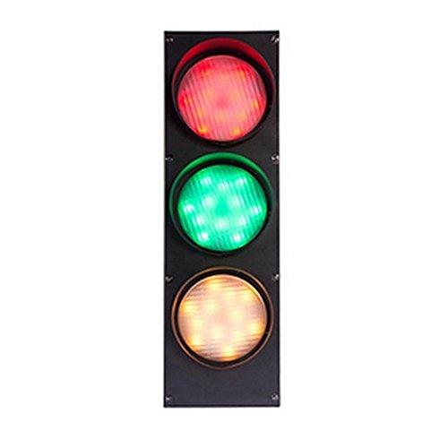 GPFDM LED-Warnung Rot-Grün-Wandleuchte - Kreative Verkehrszeichen Zeichen Beleuchtung Eisen Zierleiste (Fernbedienung des Lichts) -