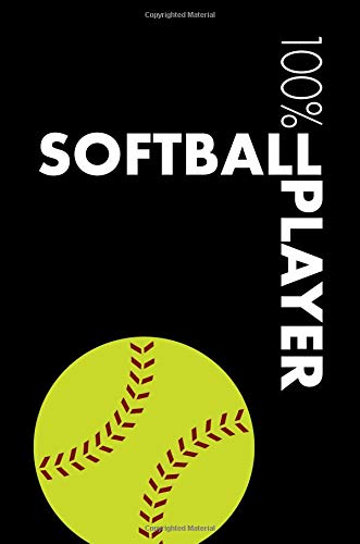 Softball Player Notebook: Blank Lined Softball Journal For Kids Player and Coach - College Ruled 120 Pages por Elegant Notebooks