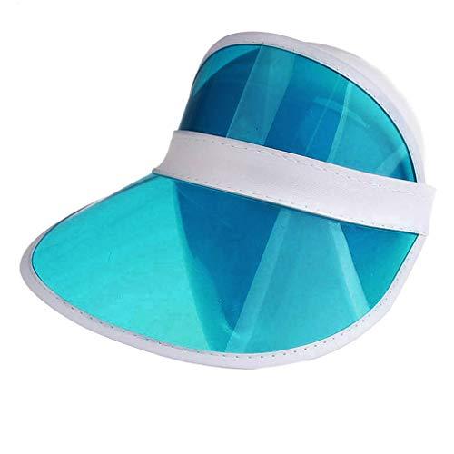 IYHENZ Outdoor Sport Hüte Unisex Sommer Outdoors Baseball Kappe Snapback Tarnen Einstellbarer Hut Sonnen Hut für Reisen Bergsteigen Wandern Besichtigung(Blau,1PC)