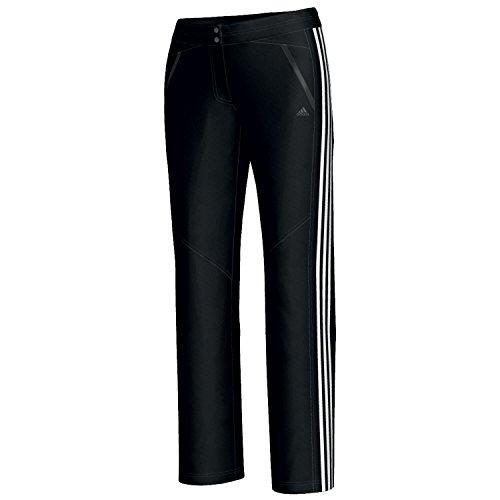 adidas Pantalones de entrenamiento Mujer Seperate ESS Woven St, color blanco/negro, tamaño...