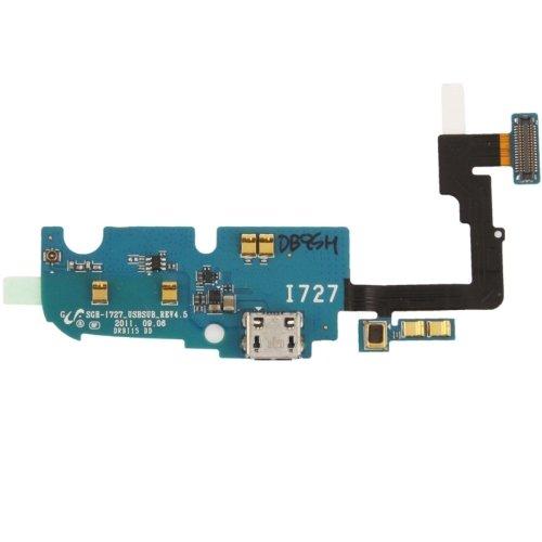 Lcd-i727 (HEXIAOLONGGALAX for Galaxy Ersatzteile für Galaxy SII Skyrocket / i727 Heckstecker Flexkabel)