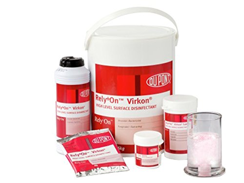 Virkon UND12555712 Disinfectant, 50 g (Pack of 50)