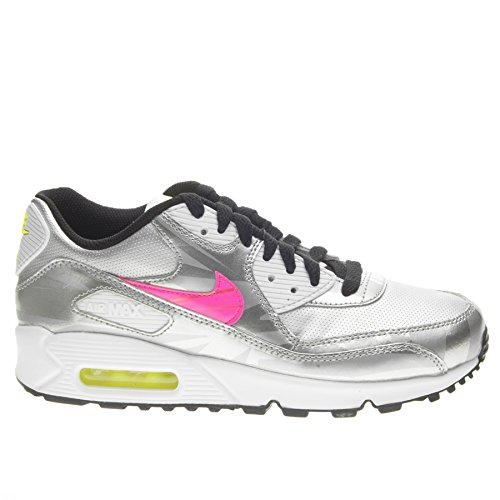 nike-air-max-90-fb-gs-trainers-705392-sneakers-shoes-uk-55-us-6y-eu-385-metallic-silver-hyper-pink-w