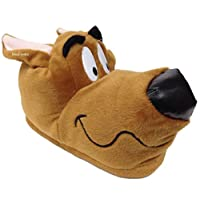 ShuCentre Scooby Doo Novelty Brown Hound Indoor Funny Gift Slippers Adults Kids