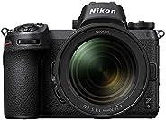 كاميرا نيكون Z6 FX بدون مراة مع عدسة نيكور Z 24-70 ملم f/4 S - اسود