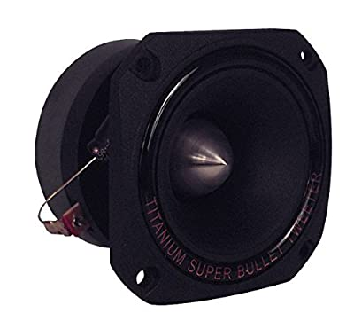 Pyramid TW44 300W Bullet Tweeter Car Speakers Single
