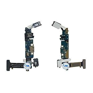 Dock Connector, cavo flex con presa di carica per il Samsung Galaxy S6G920F, con jack di ricarica per la USB e microfono