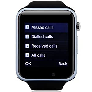 MGM ENTERPRISES Bluetooth Smart Watch | Wrist Watch with Sim Card Support for Calling Compatible with 2G 3G 4G Android Mobile Phones