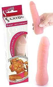 Dong réaliste articulé toucher peau - 15 cm