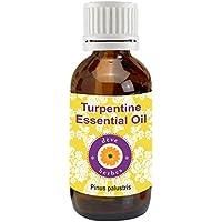 Pure Turpentine Essential Oil 100ml (Pinus palustris)100% Natural Therapeutic Grade (3.38oz)