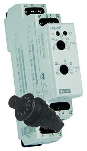 RO/SE CRM-2HE/UNI Zeitrelais - Taktgeber Asymetrisch mit 2 Potentiometer / 12-240V AC/DC
