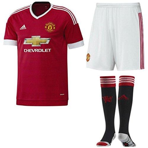 manchester-united-fc-football-kit-home-t-shirt-a-manches-courtes-pour-homme-chaussettes-pour-enfant-