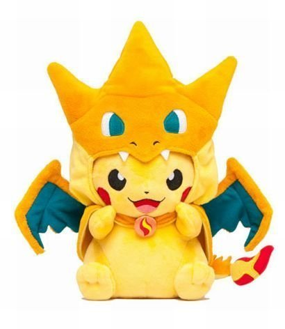 Pokemon Center Mega Tokyo Pikazard Pikachu Charizard Plush Toys Doll by Aimee (Pika Glurak)