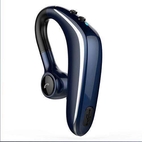 ALISALQ AuricolariBluetooth Cuffie,Cuffie Bluetooth [Stile Aziendale] Cuffie Senza Fili Bluetooth per Auto Chiamate in Vivavoce con Tecnologia Clear Capture Technology Auricolari Bluetooth-Blu