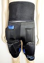 I pantaloncini dimagrenti refrigeranti 1400G e la cintura refrigerante 450G aiutano ad eliminare i grassi nell'addome, nelle gambe e nelle natiche grazie al freddo.   Il freddo aiuta a eliminare il grasso in diversi modi:   - Aumenta il consumo ca...