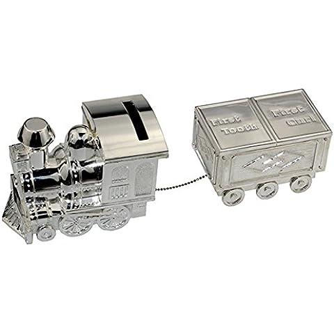 Alcancía, FGF Pequeña Locomotora Alcancía, plata RKS-CB010