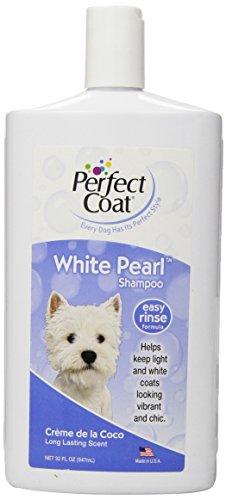 Perfect Coat Weiß Pearl Shampoo für Hunde (Shampoo 8in 1)