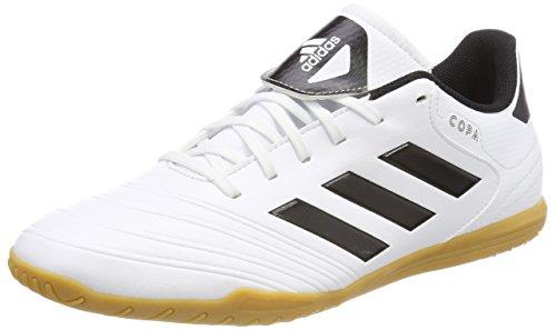 18.4 (adidas Herren Copa Tango 18.4 in Fußballschuhe, Weiß (Footwear White/Core Black/Tactile Gold Metallic), 44 2/3 EU)