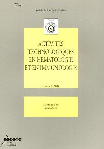 Activités technologiques en hématologie et en immunologie Tle BGB