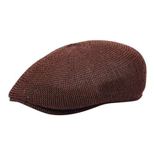 NINGSANJIN Unisex Vintage Twill Baumwolle Baseball Kappe Vintage Adjustable Dad Berets Hüte Twill-kappe