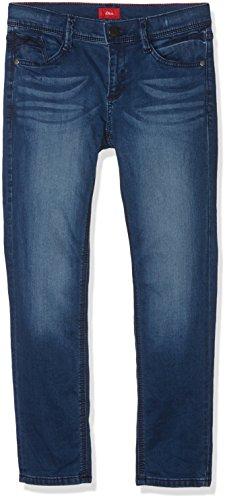 s.Oliver Jungen Jeans 61.710.71.3015, Blau (Blue Denim 56Z7), 158 (Herstellergröße: 158/BIG)