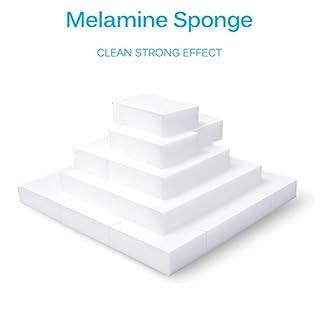 Magic Sponge Eraser, 20PCS Nano Sponge Eraser Cleaning Sponge Stain Remover Multi-functional High Density Melamine Foam for Bathroom Kitchen Floor