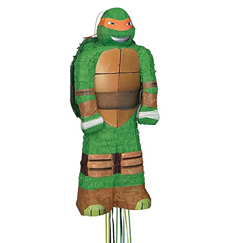 Michelangelo Teenage Mutant Ninja Turtles Pinata Pull String