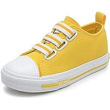 Zapatillas de Deporte de los niños Zapatillas de Lona de los niños Ocasionales Zapatos cómodos del