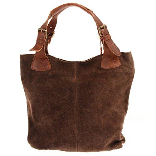 leconi-sac-main-vritable-cuir-suede-daim-sac-vintage-cabas-femmes-shopper-34x35x10cm-brun-fonc-le003