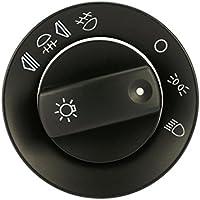 REFURBISHHOUSE Cubierta del Interruptor de Faro de Niebla de Coche para Audi A4 B6 B7 / regulador de Intensidad de salpicadero/Interruptor de regulador de Intensidad de Faro