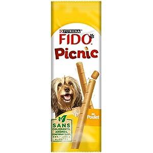 Fido Picnic au Poulet - 42 g - Friandises pour Chien - Lot de 48