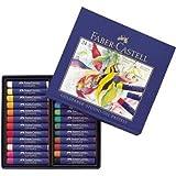 Faber-Castell 127024 - Ölpastellkreide Studio Quality 24er Etui 24 verschiedene Farben