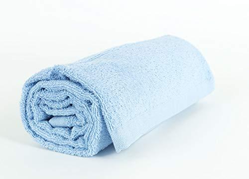 Serviettes et lingettes Sophie ciel en coton Telo Bleu ciel