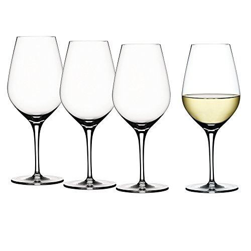 Spiegelau & Nachtmann - Authentis - Verres à vin et carafe à décanter, Weißweinglas, Lot de 4