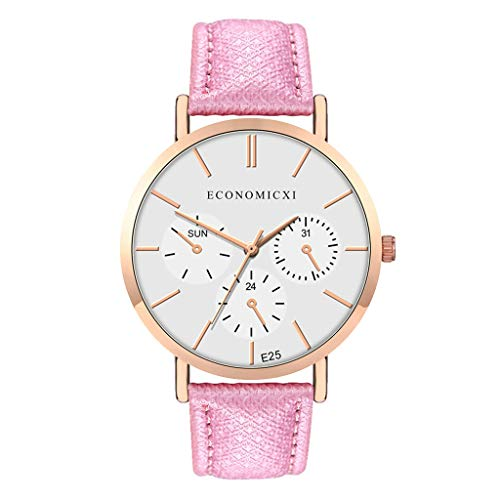 Opalley Armbanduhr Damen Uhr Xinnantime Casual Checkers Faux Leder Analoge Quarz Damenuhr Frauen Farbe