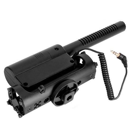 Shotgun-mikrofone (piscevir DSLR-Kamera 3,5mm Schnittstelle Fotografie Interview Shotgun Mikrofon)