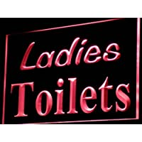 ADV PRO i775-r Ladies Toilets Washroom Restroom Neon Light Sign