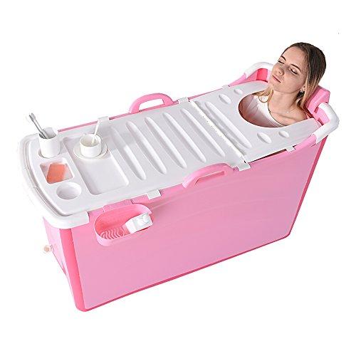 Bathtub PHTW HTZ Bañera Bañera Plegable De Plástico para El Hogar Bañera...