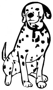 PeelitStickit Hond Wandtattoo, Dierlijke, ID-094, DEWallMuralAniHor81