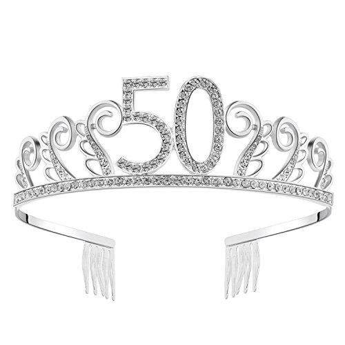 BABEYOND Crystal Rhinestone Tiara princesa corona