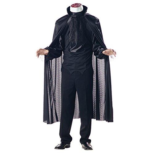 California Kostüm-cs97512/L-Kostüm Mann ohne Kopf Größe L (Ohne Kopf Kostüm)